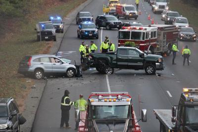 UPDATE: Driver dies in Tuesday morning crash, all I-495 lanes