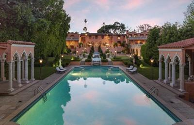 Once listed at $195M, the famed Hearst estate is hitting the auction block