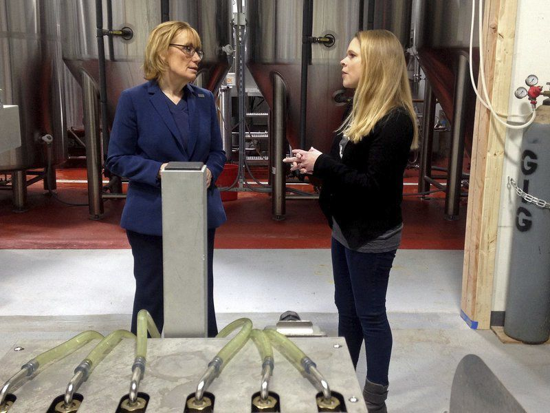 Derry brewery welcomes Hassan for tour