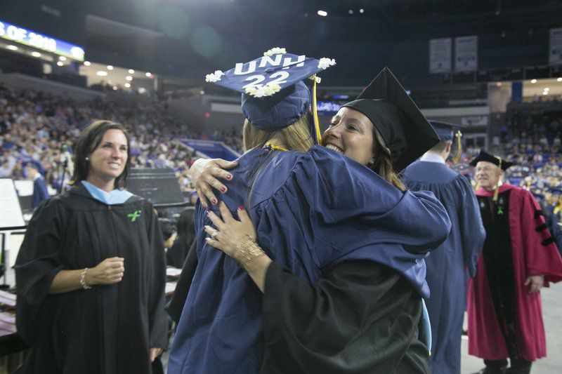 Andover High class of 2018 praised for volunteerism, encouraged to take risks