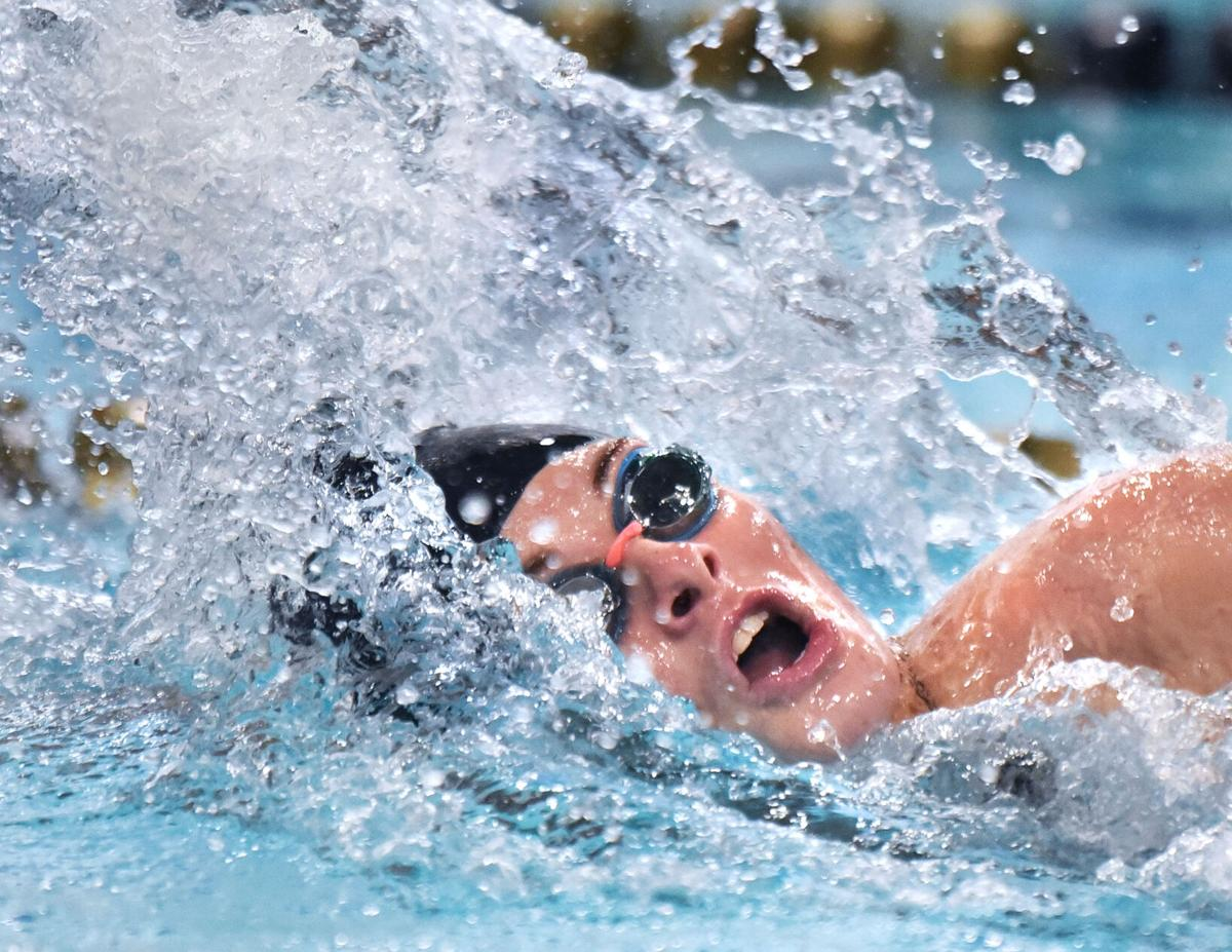 Methuen Rangers at Haverhill Hillies in swimming action.