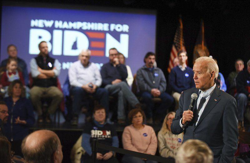 Biden speaks in Derry