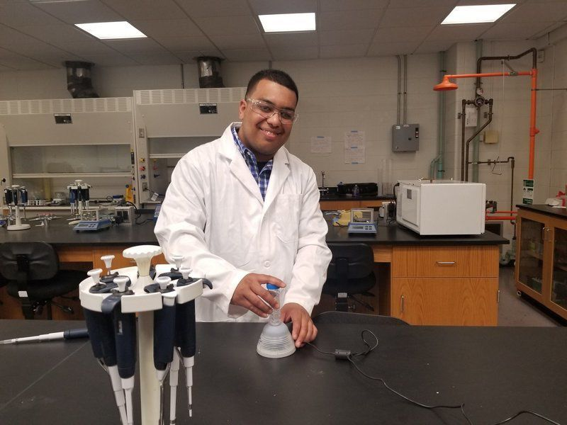 NECCgrad faces obstacles in quest to become research chemist