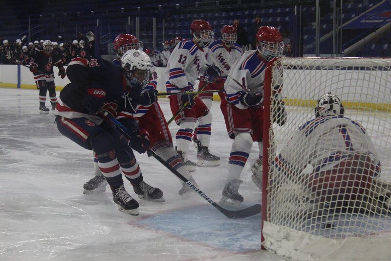 Central Catholic boys hockey earns MVC Cup title with convincing victory over Tewksbury