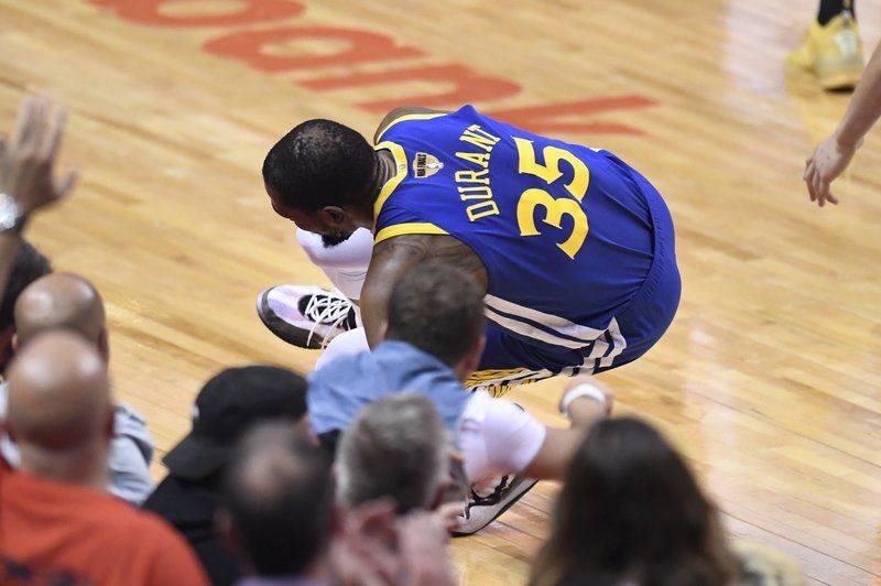 Warriors adjusting after Durant undergoes surgery