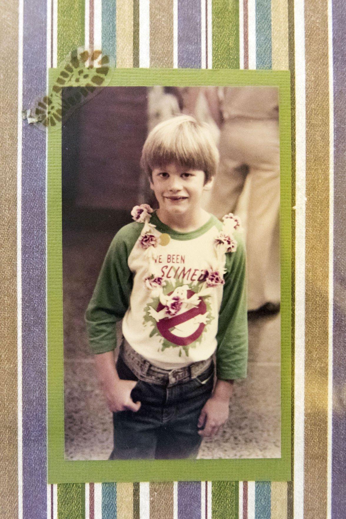 Slideshow: Tom Brady growing up in San Mateo, CA