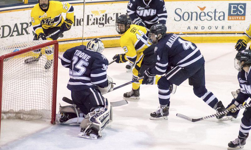 Merrimack takes Game 1 from UNH in Hockey East playoffs   Local