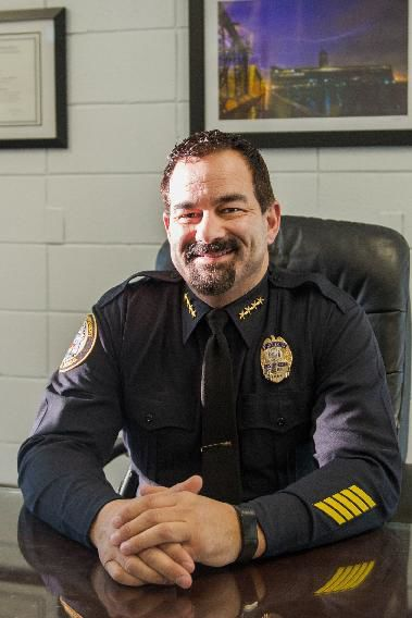 lawrence PD chief Roy Vasque