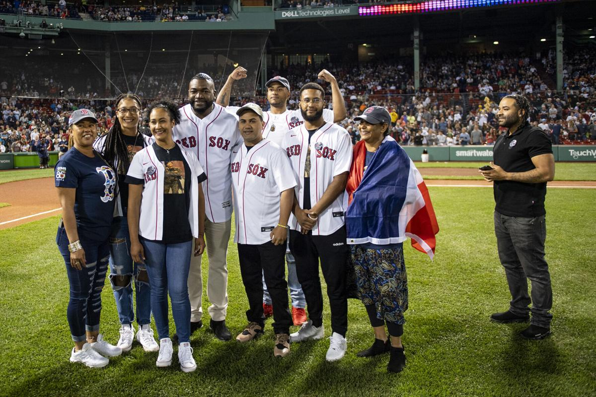 Red Sox honor family of Lawrence hero