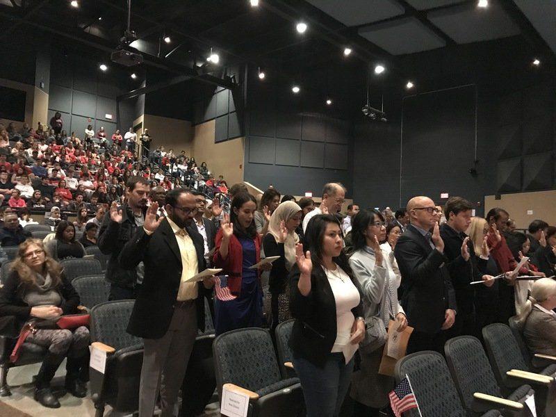 Windham High hosts naturalization ceremony
