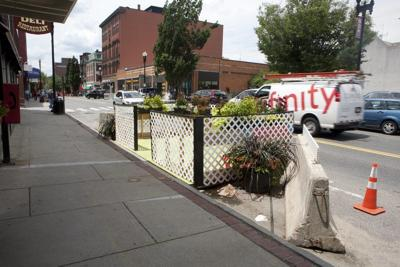 Downtown 'parklets' may return this summer