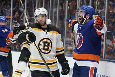 Bruins can't keep pace with Islanders, eliminated from postseason