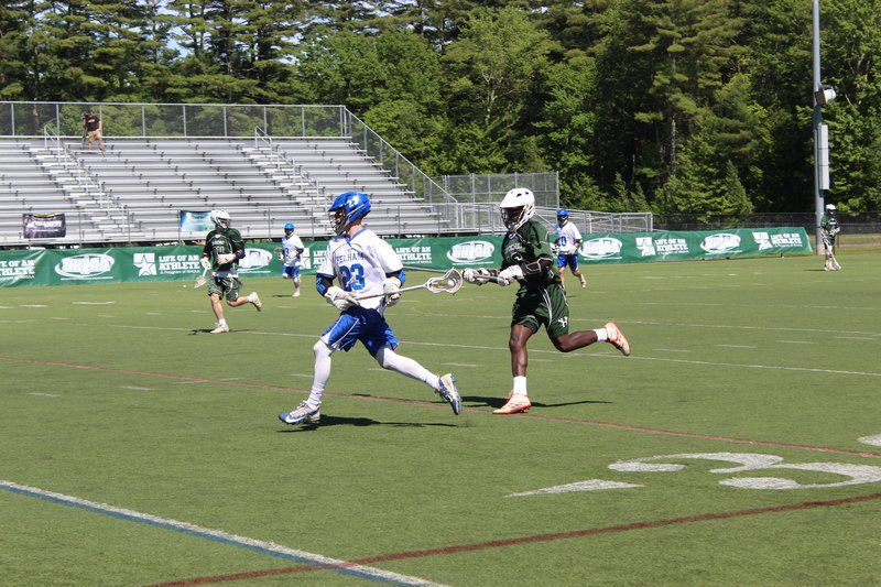 Pelham falls behind early, drops Division 3 lacrosse title game