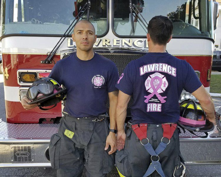 6d31a81e0309 Firefighters' T-shirt sales support breast cancer patient | News ...