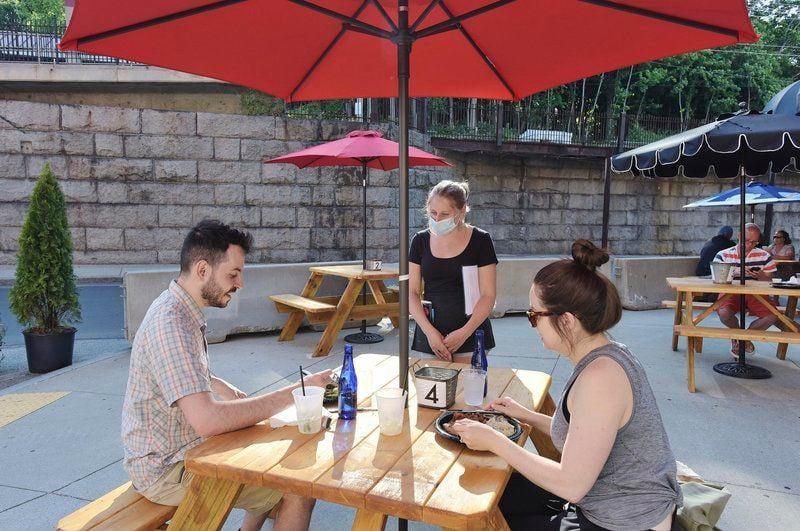 Restaurants reinvented -- outdoor style