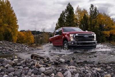 Ford Super Duty steers toward tough tasks
