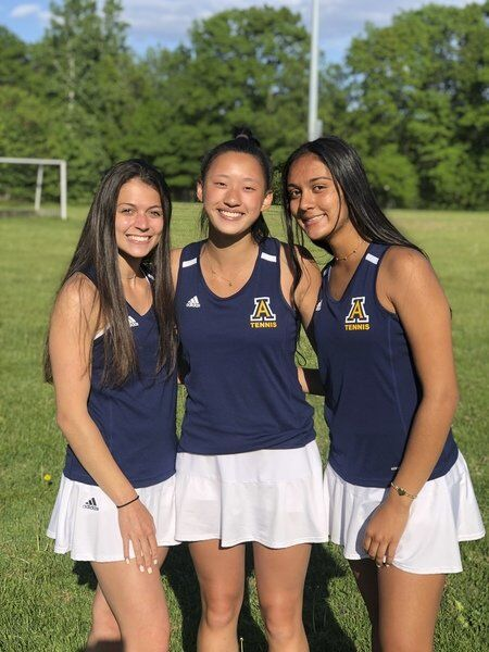Zhou delivering another stellar spring for unbeaten Andover tennis