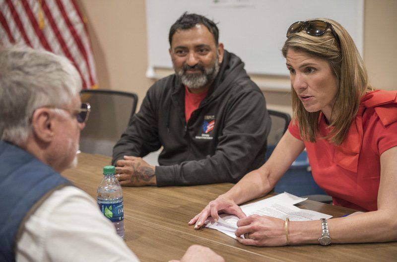 Trahan holds roundtable discussion with Veterans Northeast Outreach officials
