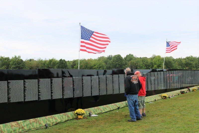 Several thousand visit The Moving Wall in Newbury