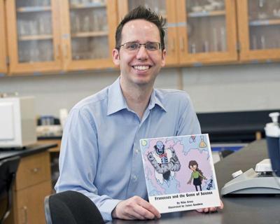 Chemistry professor writes children's book