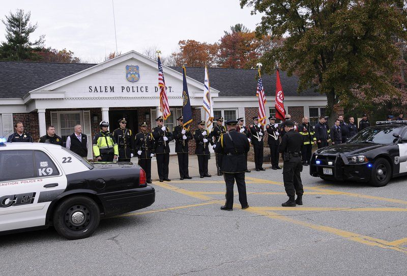 Salem police pay last respects to K-9 Til