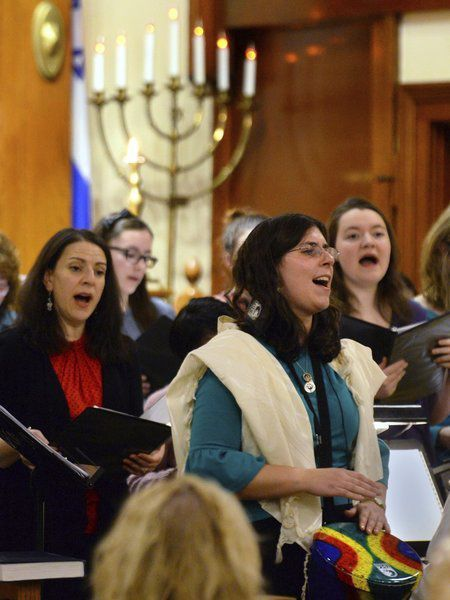 Church, synagogue join hands to honor Martin Luther King Jr.