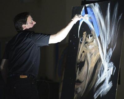 Sehr Local speed painter performs at Celtics game | Merrimack Valley EL54