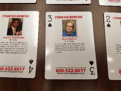 Prisons provide cold case playing cards to inmates