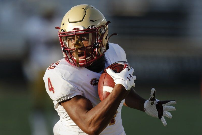 Boston College's Flowers has changed the way the offense is being played