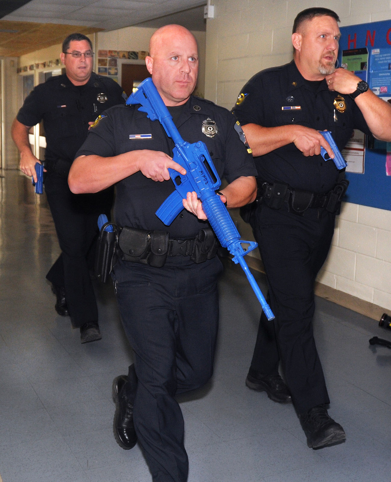 SLIDESHOW ACTIVE SHOOTER DEMONSTRATION Gallery
