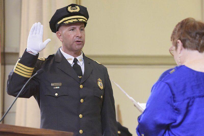 Pistone sworn in as Haverhill's new police chief