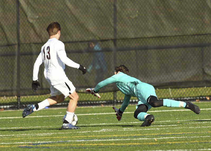 EMass Boys Soccer North Andover, Central both bow out in North quarters