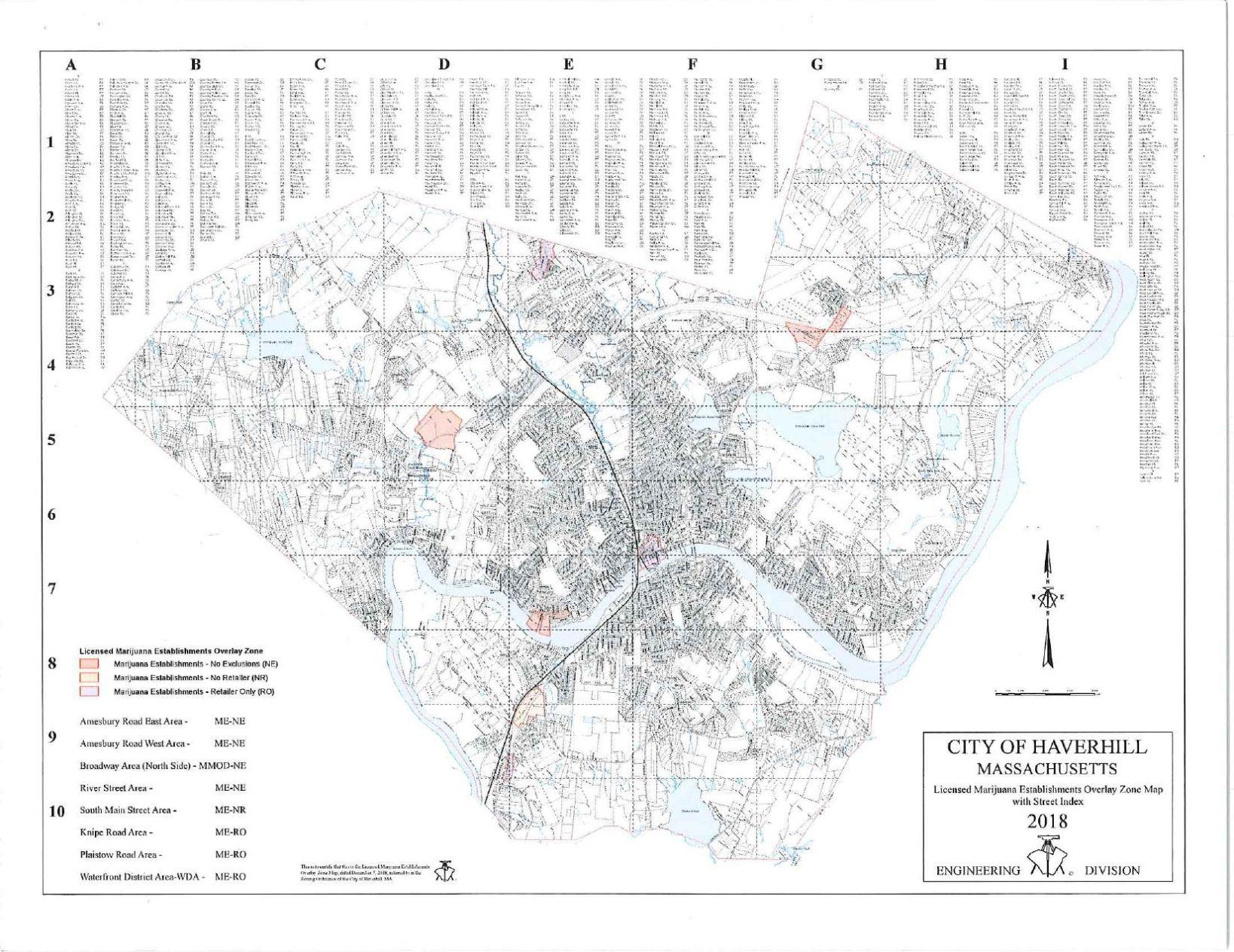 Methuen Ma Zip Code Map.City Of Methuen Zoning Map Creativehobby Store