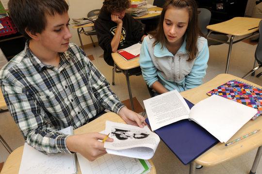 Sanborn students have Santa Fe pen pals | Local News