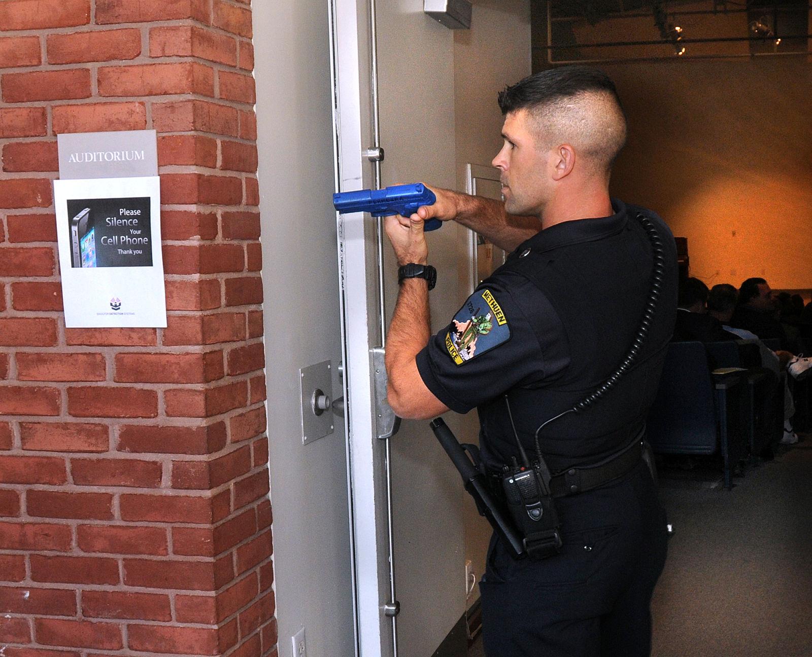 Methuen Police officer Eric Ferreira a member