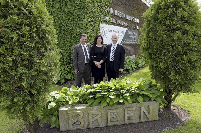 Breen family marks 150 years of service