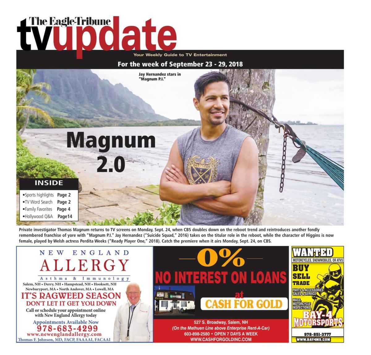 TV Update: Sept. 23-29