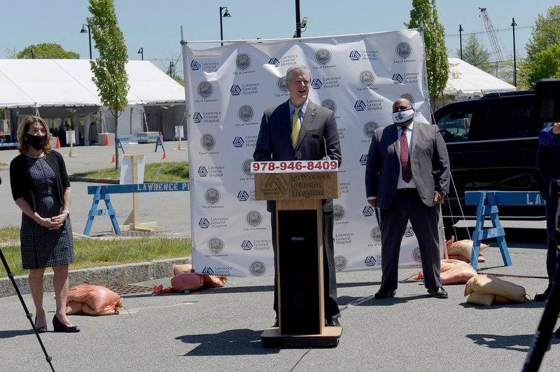 9-lane coronavirus testing site opens in Lawrence