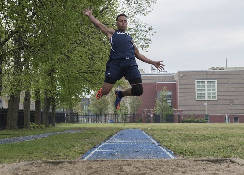 Dominican native Suarez a stalwart standout for Lawrence track