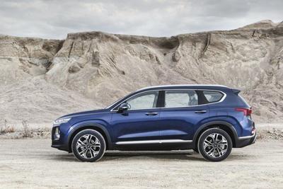 New Santa Fe joins Hyundai crossover drive