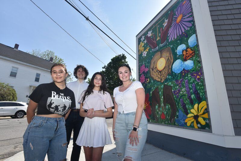 Artists create new mural on Washington St. in Haverhill