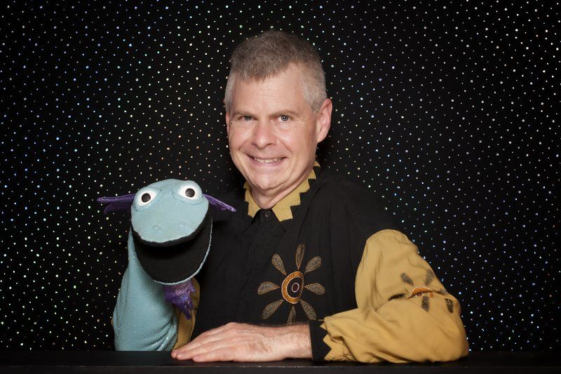 Wump Mucket fun; Andover puppeteer returns home with his zany cast of characters