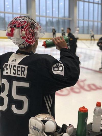 Floridian Keyser comes to Boston for a hockey dream