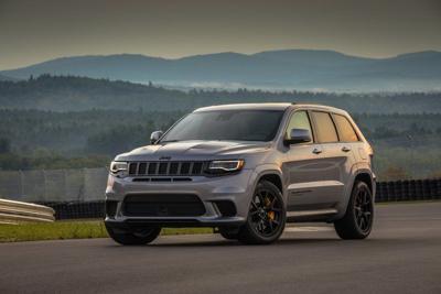 Jeep Grand Cherokee Trackhawk equals speed