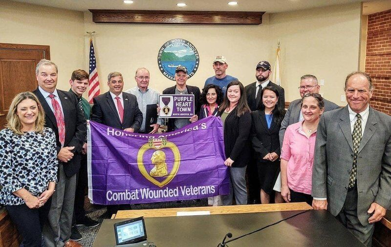 North Andover declares Purple Heart Day