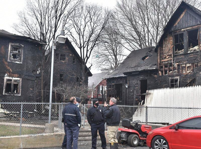UPDATE: 5-alarm Easter fire in Lawrence caused by cigarette