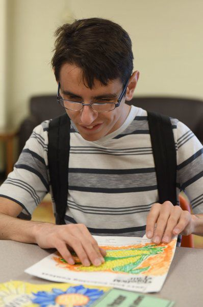 Blind Student Excels In Topsfield Fair Coloring And Poster Contest