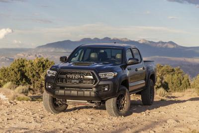 Toyota Tacoma goes where the road ends