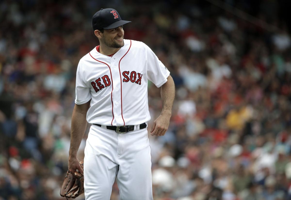 Nathan Eovaldi has opened his Red Sox career with 15 scoreless innings. (AP  Photo Steven Senne) 9593b4e32d2