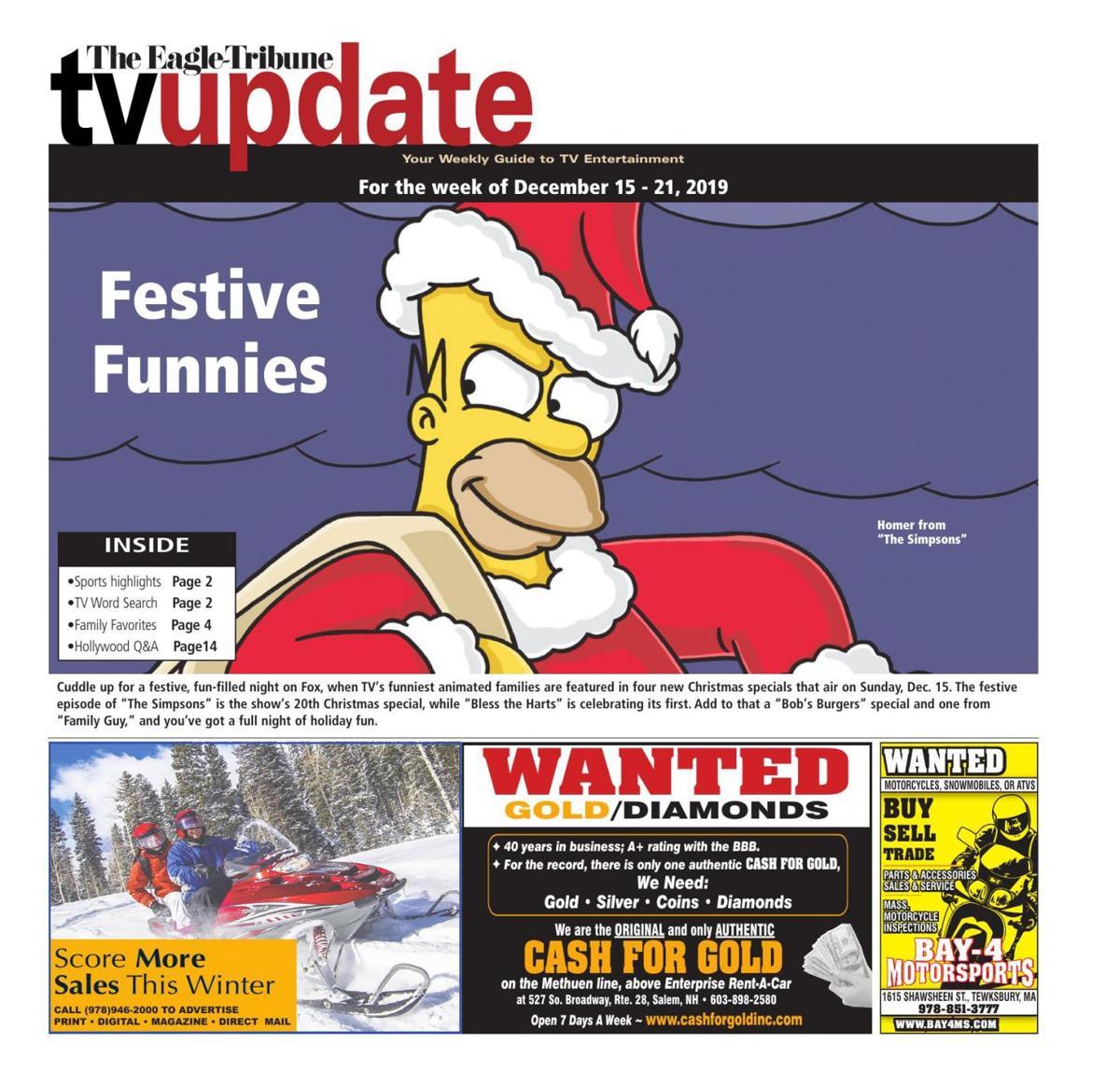 TV Update: Dec. 15-21